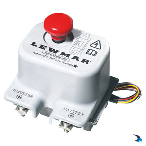 Lewmar - Thrusters automatic battery switch