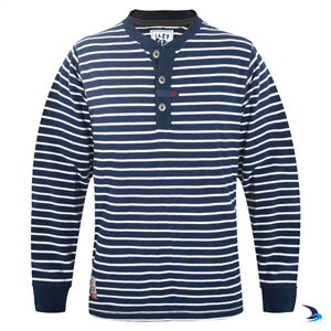 Lazy Jacks - Long-sleeve grandad top (mens)