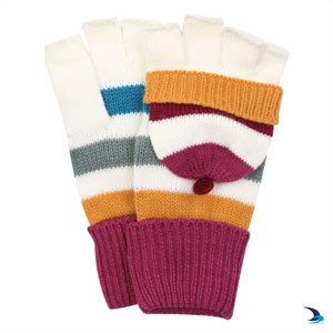Lazy Jacks - Knitted stripe gloves