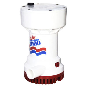 Rule - Fully automatic submersible bilge pumps