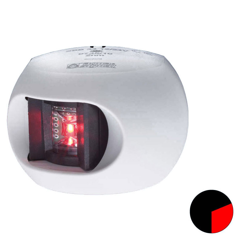 Aqua Signal - Series 34 LED Port Navigation Light (White Housing)