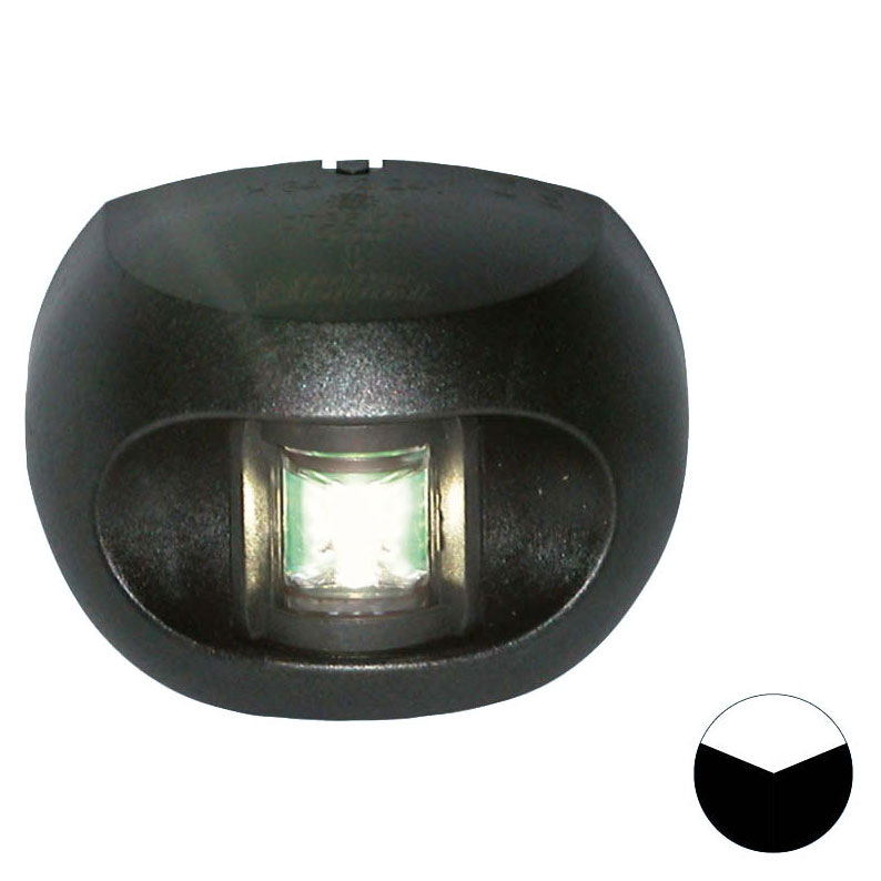 Aqua Signal - Series 34 LED Stern Navigation Light (Black Housing)
