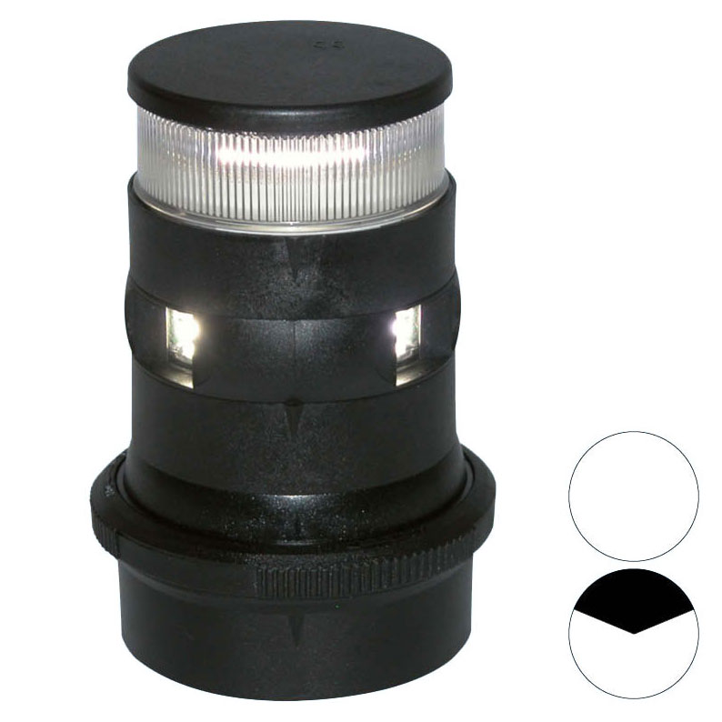 Aqua Signal - Series 34 LED Masthead/Anchor Light (Black Housing)