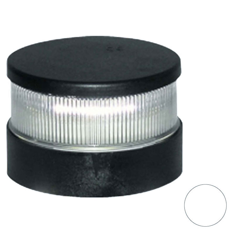 Aqua Signal - Series 34 LED All-Round White Navigation Light (Black Housing)