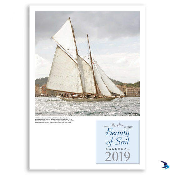 Beken of Cowes - 'Beauty of Sail' 2019 Calendar