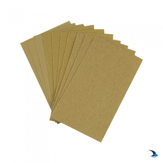 Ciret - Sandpaper Sheets Pack 10 Assorted Grades