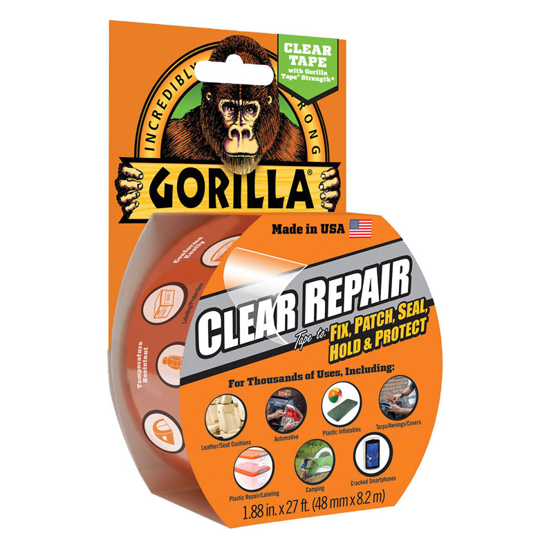 Gorilla - Waterproof Clear Repair Tape