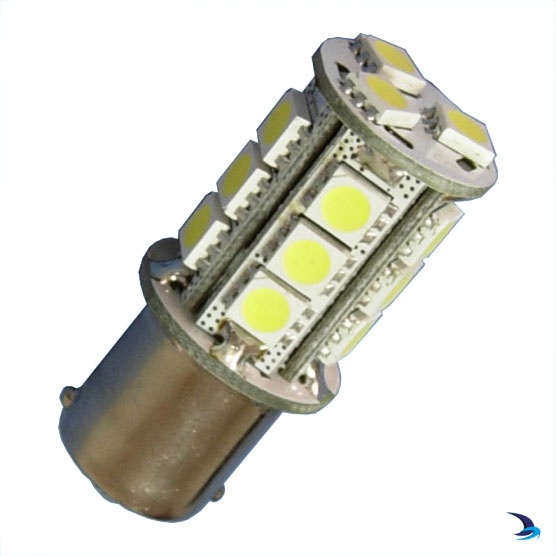 Holt - LED Navigation Light Bulb All Round Green BAY15D