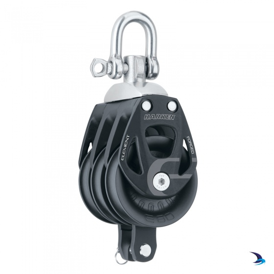 Harken - Element Triple Block with Becket 60mm