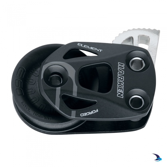 Harken - Element Single Footblock with Lock-Off 60mm