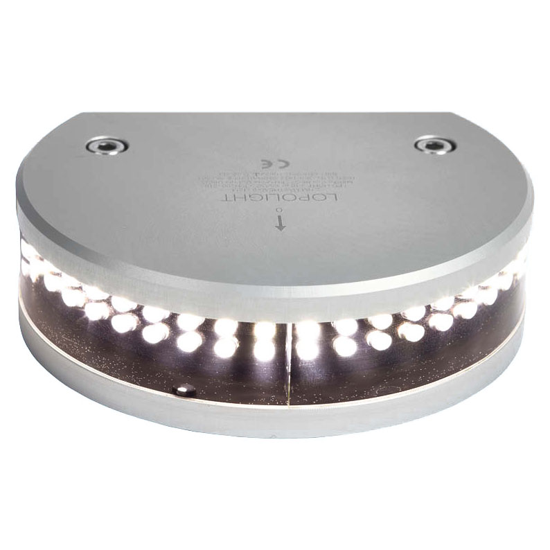 Lopolight - Series 200 masthead light LED with integrated decklight (2nm visibility)