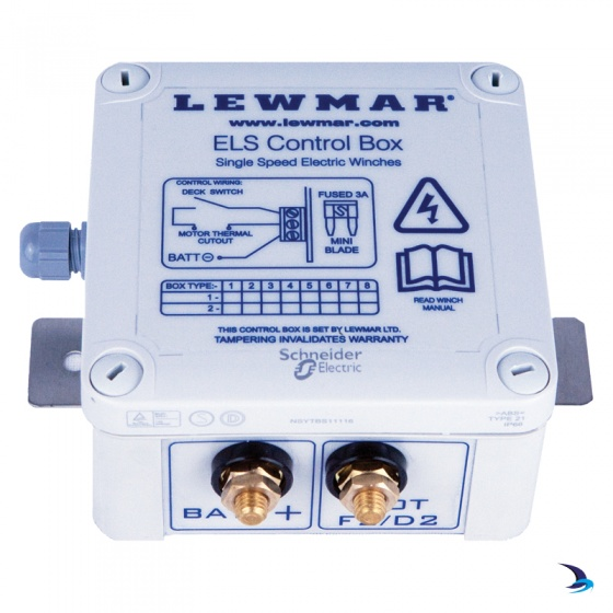 Lewmar - ELS Control Boxes for Electric Winches
