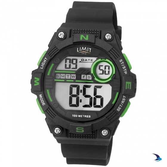 Limit - Countdown Watch, Black/Green