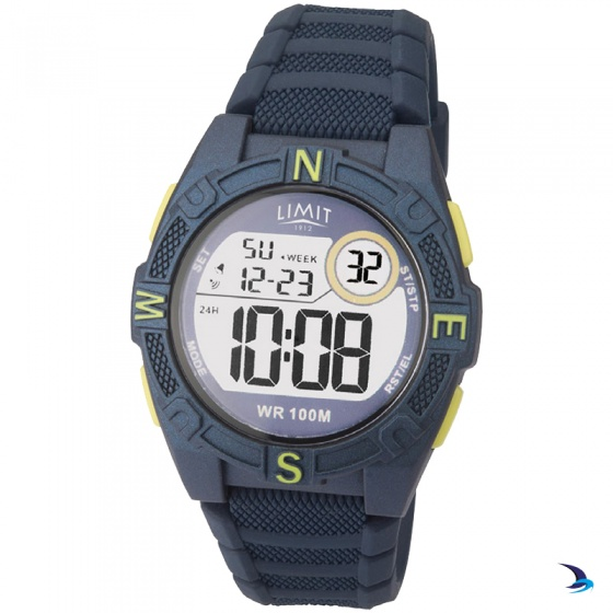Limit - Countdown Watch, Blue/Lime