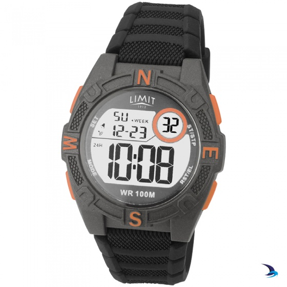 Limit - Countdown Watch, Grey/Orange