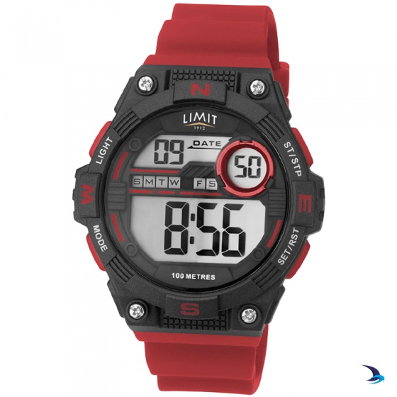 Limit - Countdown Watch, Red