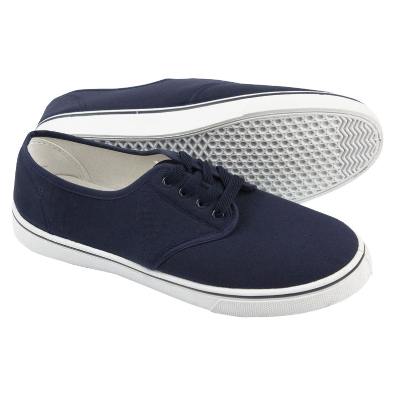 Nauticalia - Yachtmaster Lace Up Canvas Shoes
