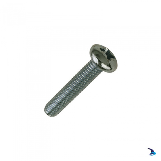 A4 Stainless Steel Pozi Pan Head Screw - M8x100