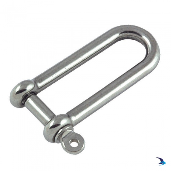 Stainless Steel Long D Shaped Shackle