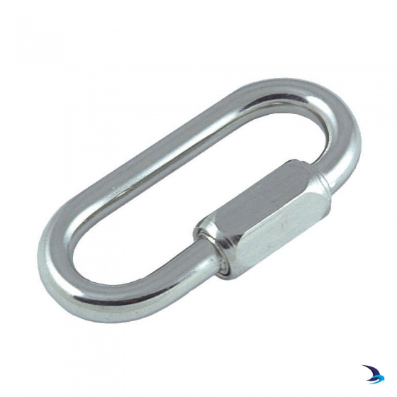 Stainless Steel Rapid Link With Screw Opening