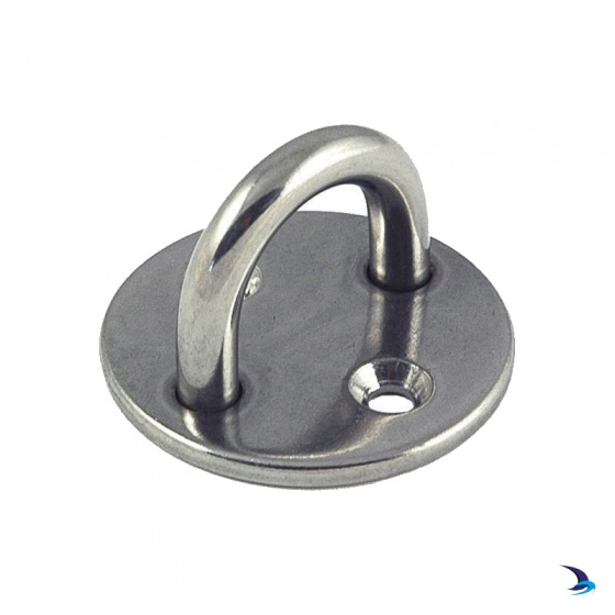 Stainless Steel Round Plate with U-Bolt