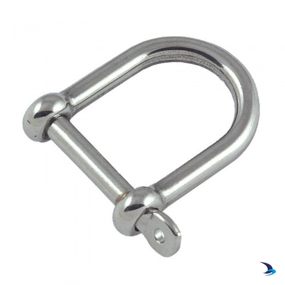 Stainless Steel Wide Jaw Shackle