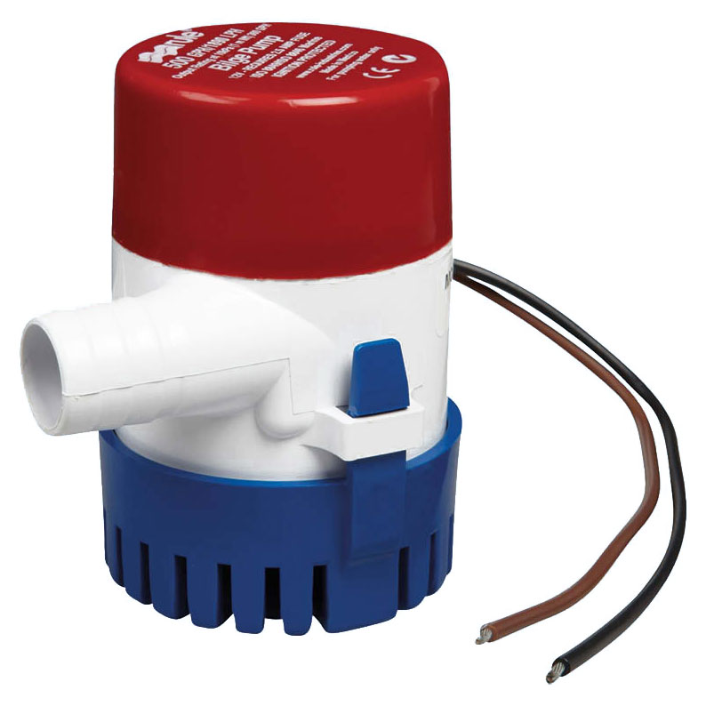 Rule - Round submersible bilge pumps