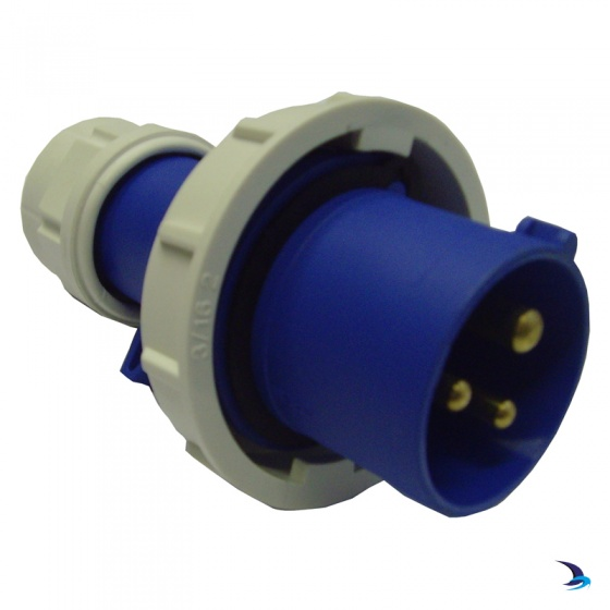 Waveline - Industrial Shore Power Plug (male) 16A