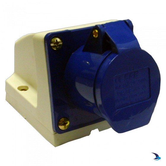 Waveline - Industrial Shore power Socket 16A