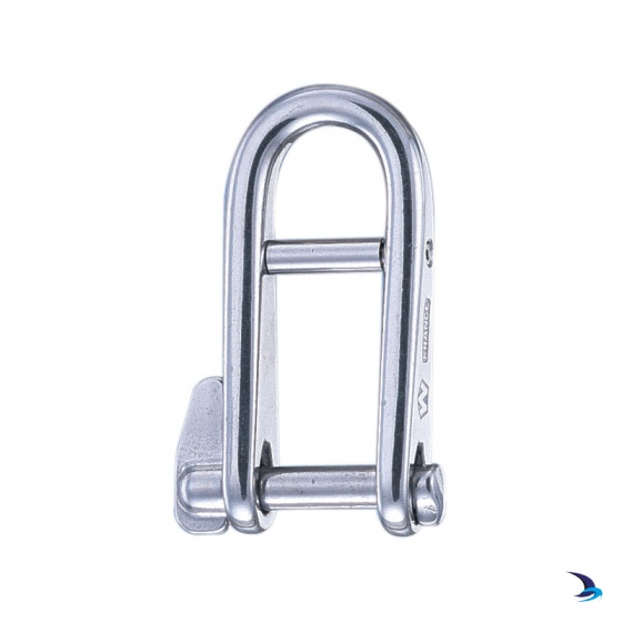 Wichard - High Resistance Key Pin Halyard Shackles with Bar