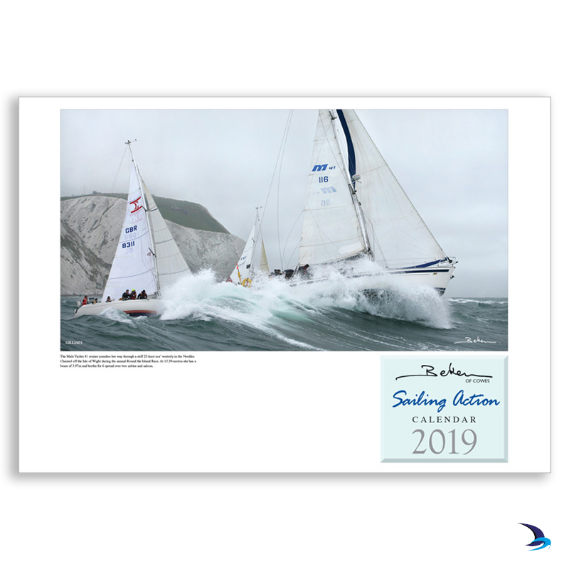 Beken of Cowes - 'Sailing Action' 2019 Calendar