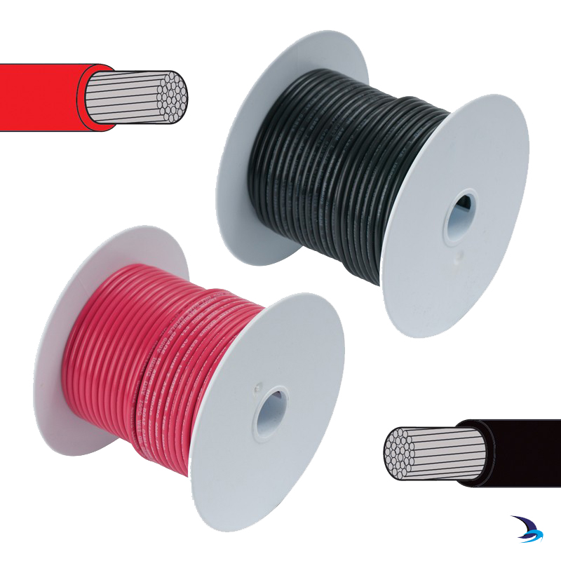 Tinned Cable Single Core 6mm2 30m Reel