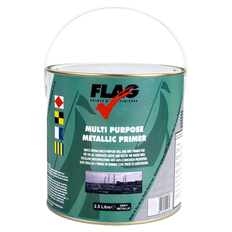 Flag - Multi Purpose Metallic Primer (Grey Metallic)