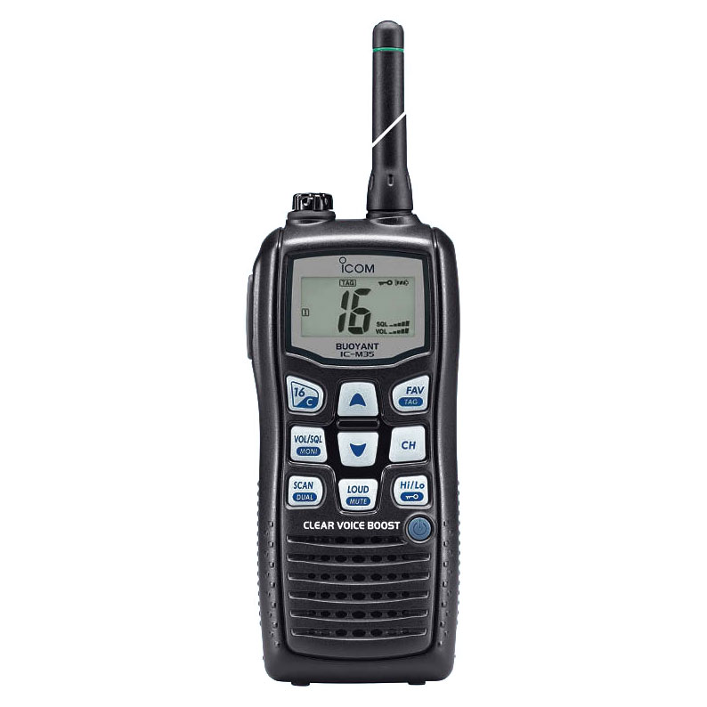 Icom - IC-M35 hand held VHF transceiver