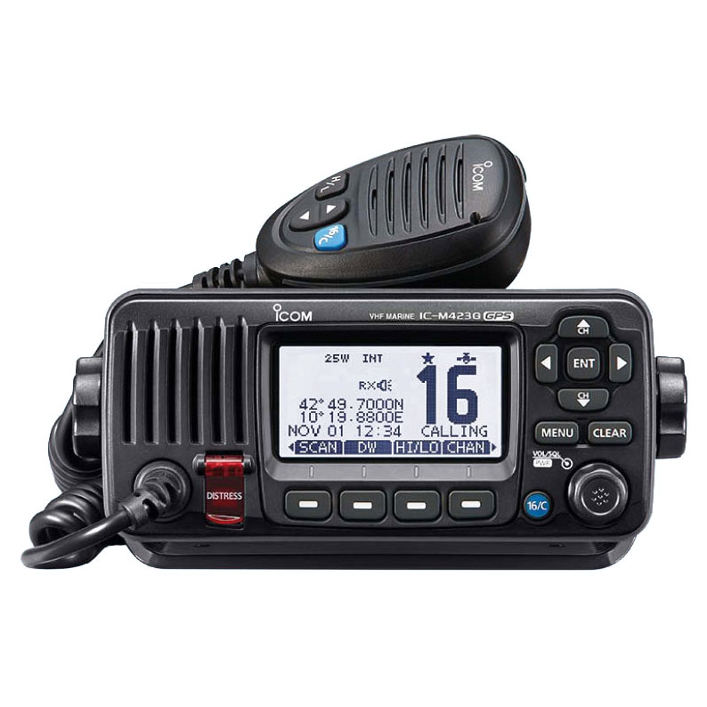 Icom - IC-M423G fixed VHF / DSC transceiver (with GPS receiver)