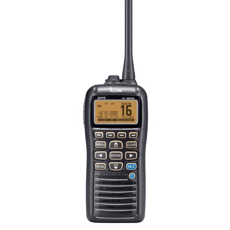 Icom - IC-M91D buoyant VHF / DSC handheld radio