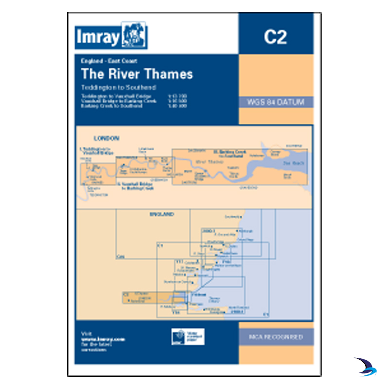 Imray - Chart C2 The River Thames
