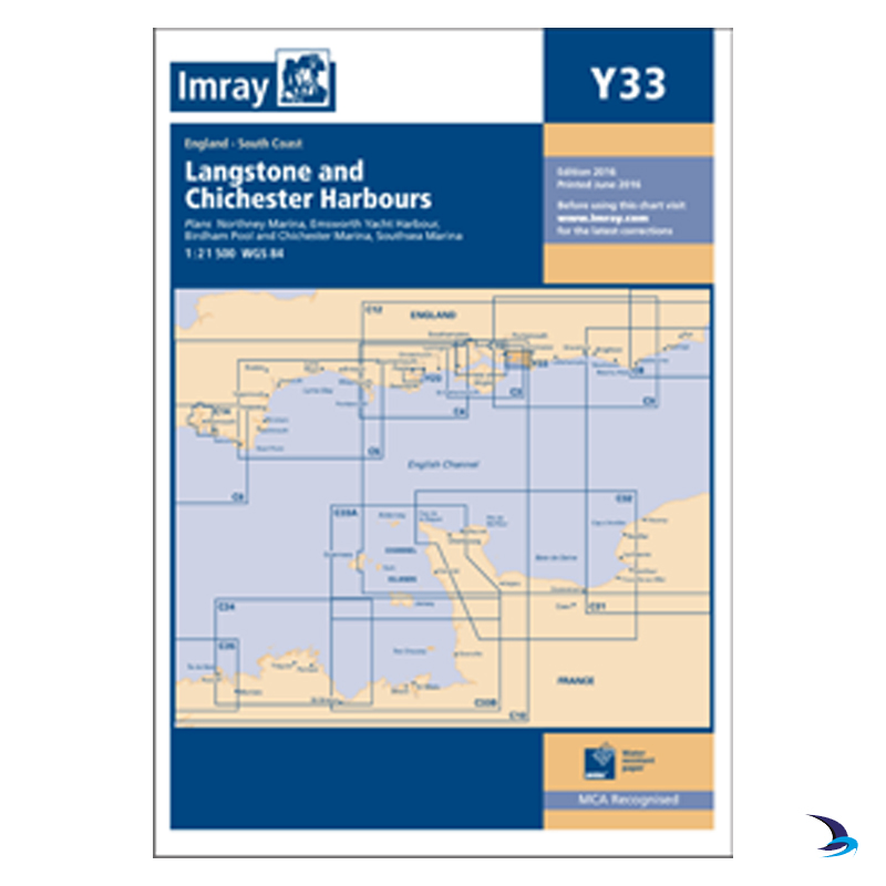 Imray - Chart Y33 Langstone & Chichester Harbours
