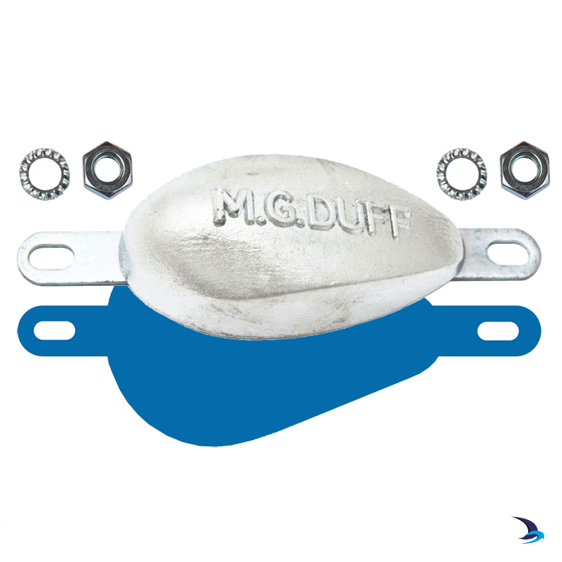 MGDuff - AD77 Aluminium Bolt-On Hull Anode Kit