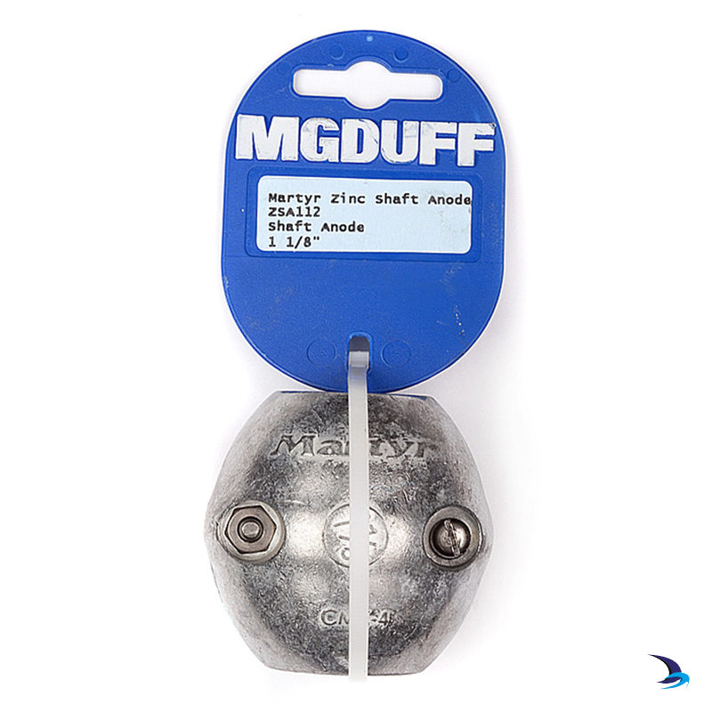MG Duff - Zinc Ball Shaft Anode 1 1/8'' (29mm)
