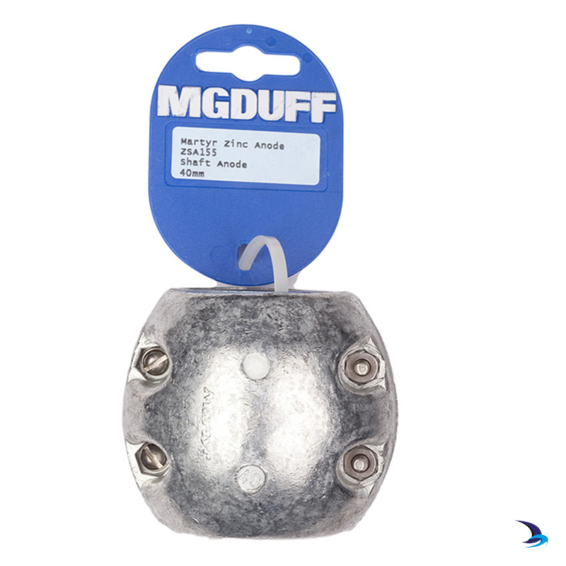 MG Duff - Zinc Ball Shaft Anode 40mm