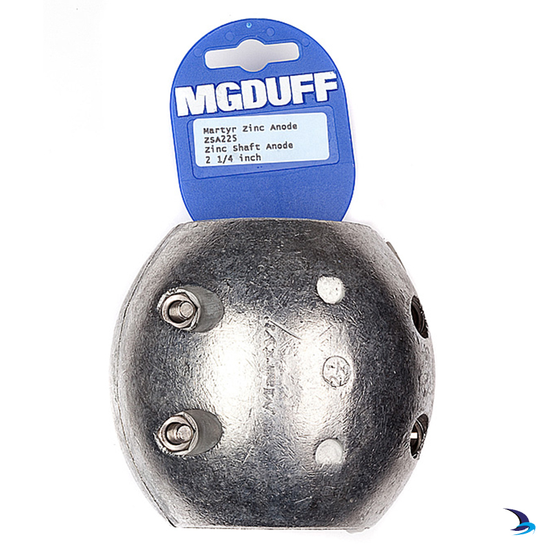 MG Duff - Zinc Ball Shaft Anode 2 1/4'' (57mm)