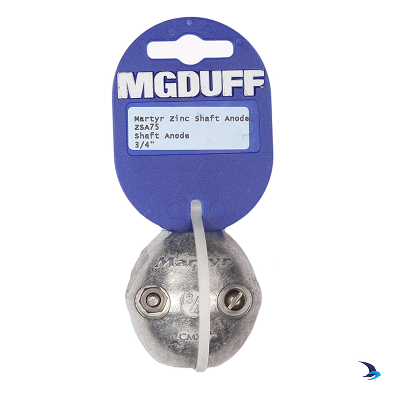 MG Duff - Zinc Ball Shaft Anode 3/4'' (19mm)