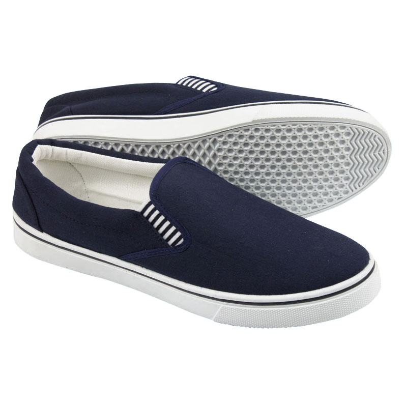 Nauticalia - Yachtmaster slip on canvas shoes
