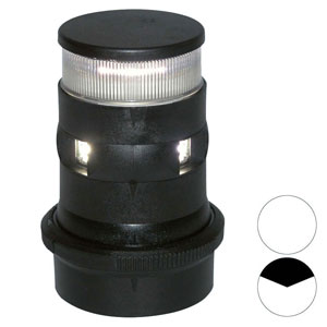 Aqua Signal - Series 34 LED masthead / anchor light (black housing)