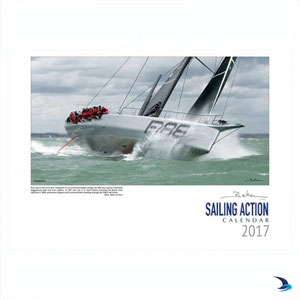 Beken of Cowes - 2017 Sailing Action Calendar