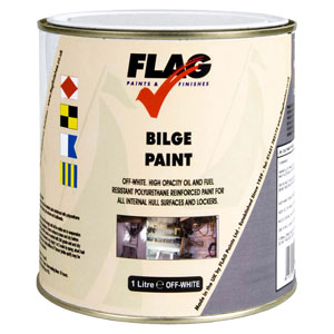Flag - Bilge paint 1 litre (off-white)