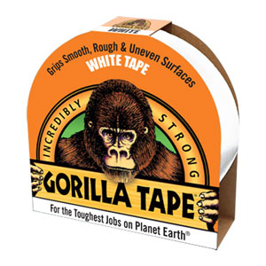 Gorilla Glue - Extra strong white duct tape
