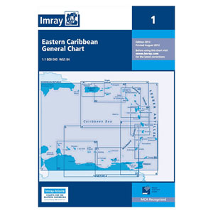 Imray - Charts for the Caribbean Sea (A, B and D series)