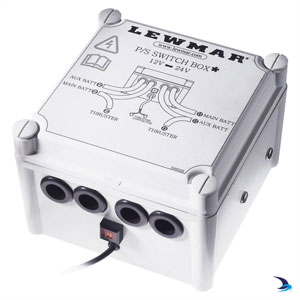 Lewmar - Thruster power switch box